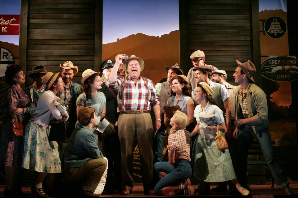 Bill Nolte as Tony with cast