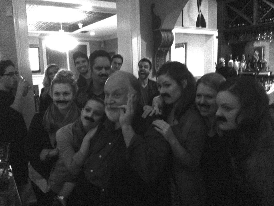 Me and Payonk and the ladies with mustaches