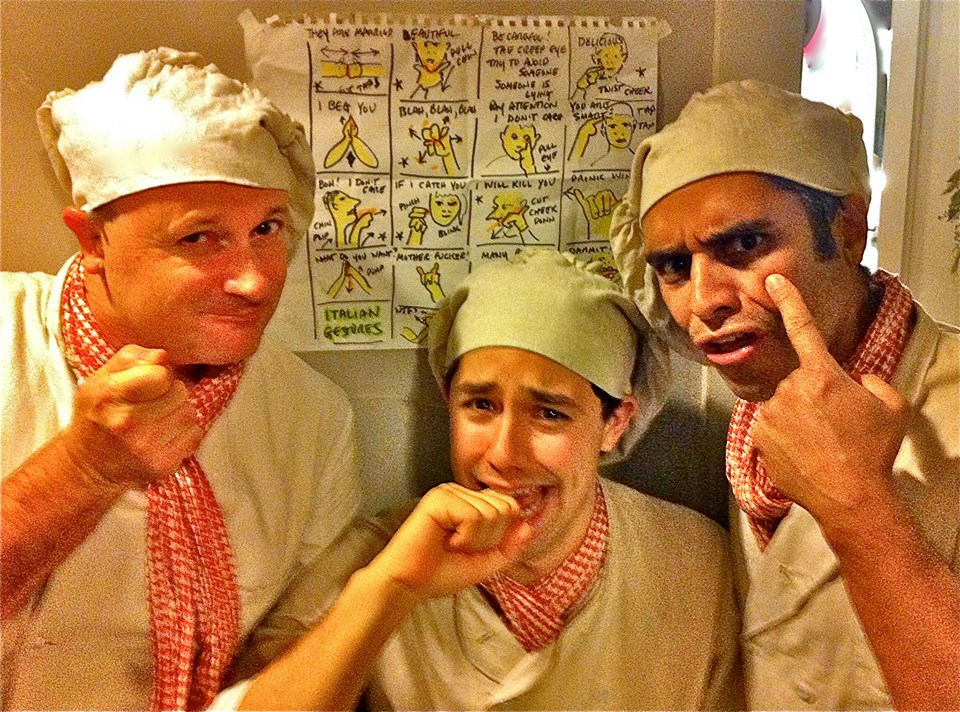 Chefs or stooges ???