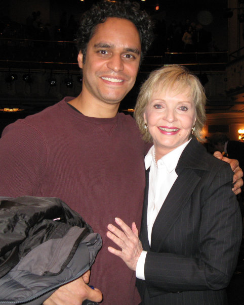 Florence Henderson came to the opening, she was very gracious.