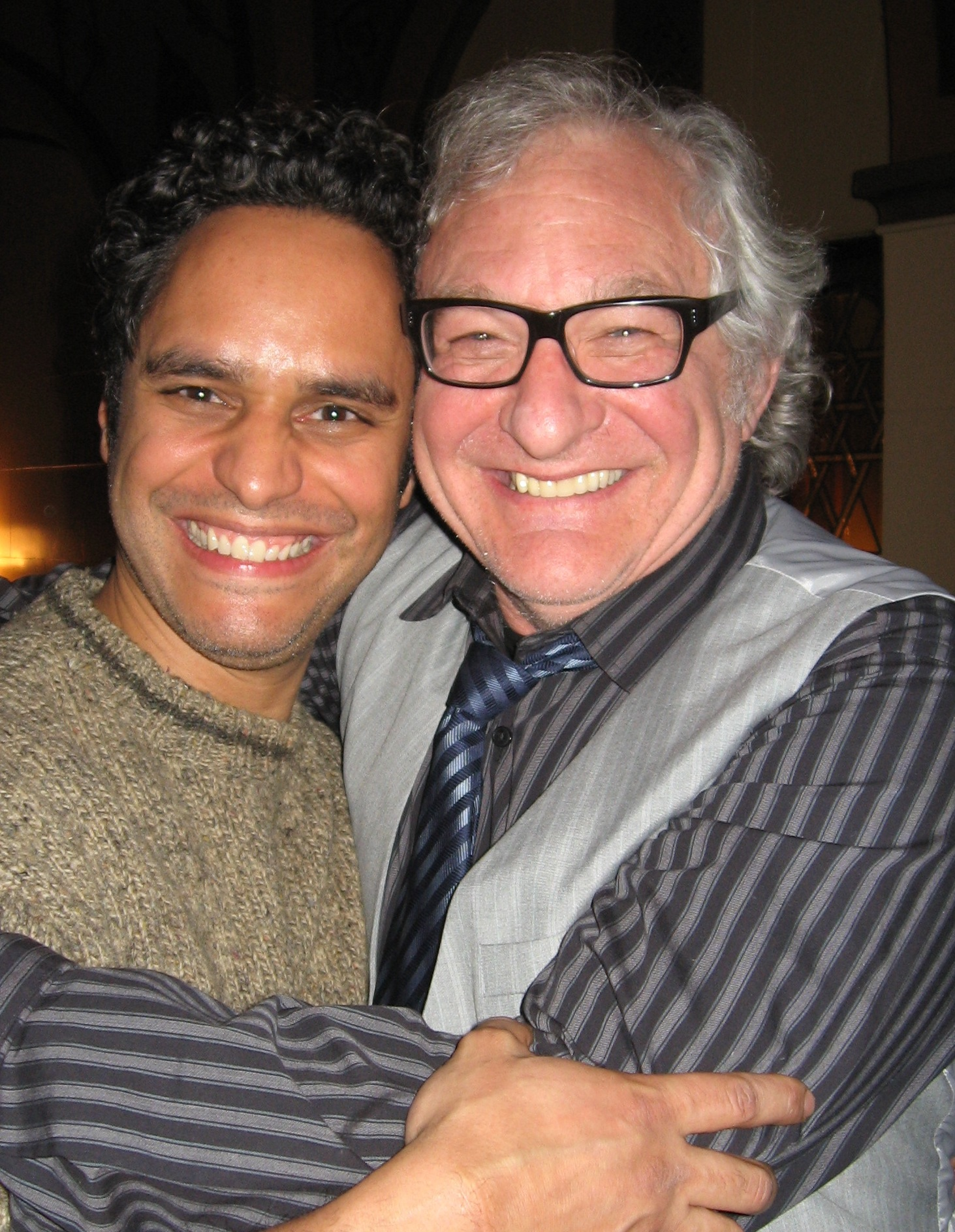 My good buddy Tim Jerome came to the closing party.