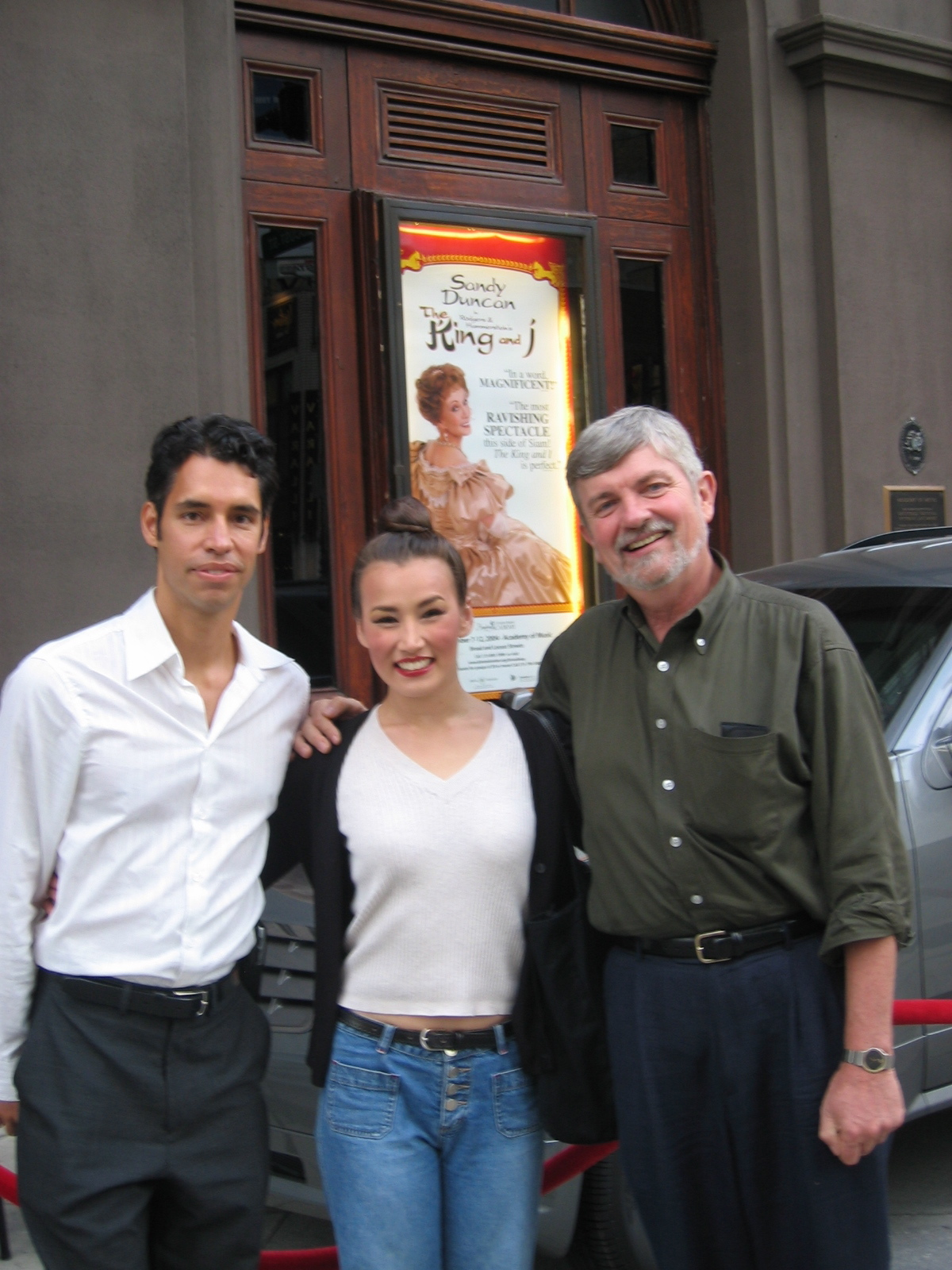 My brother Marcos and our good friend Don Padgett came to see the show in Philly