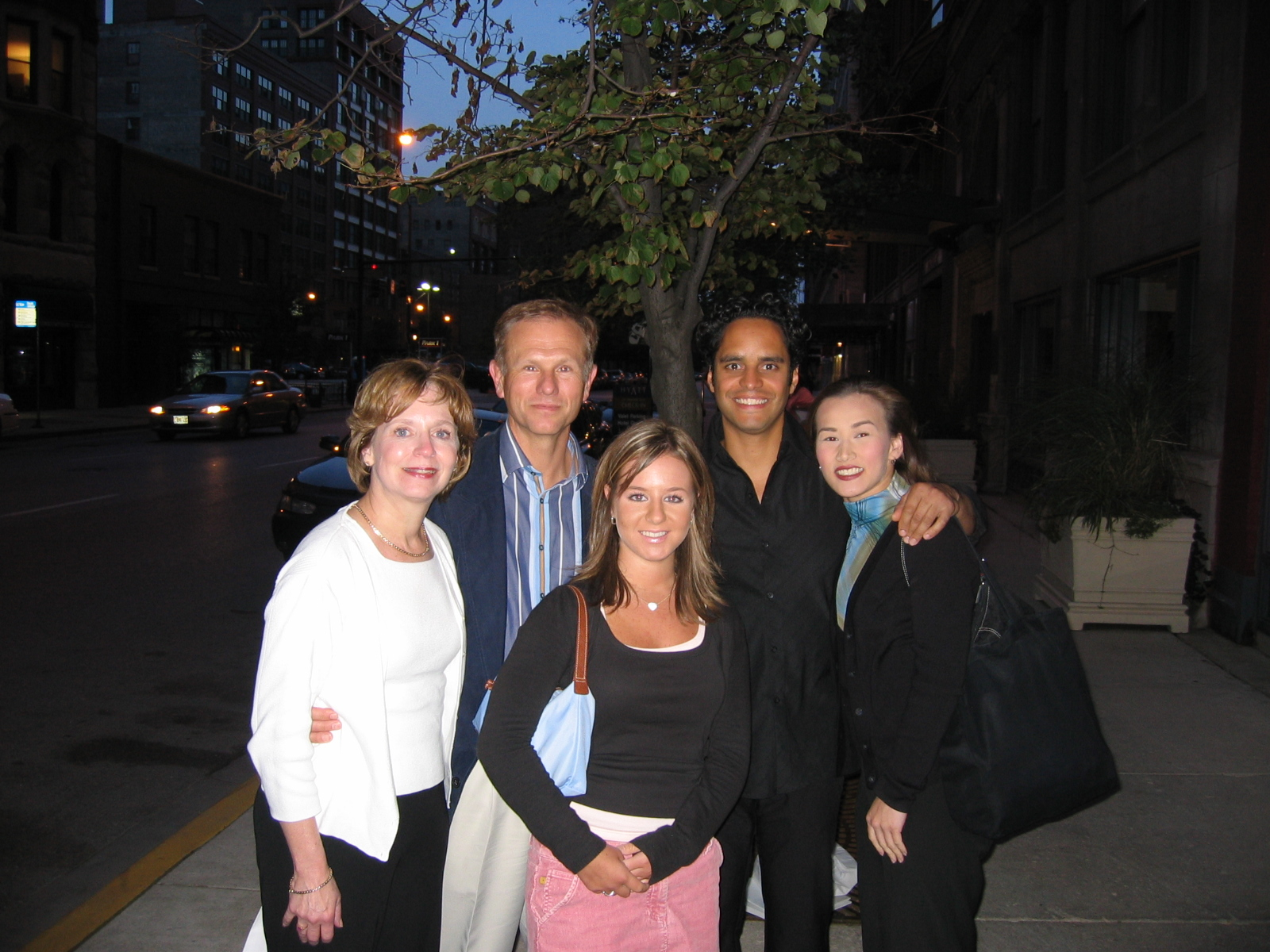 My dear friend Paul Herman and his family saw us in Chicago