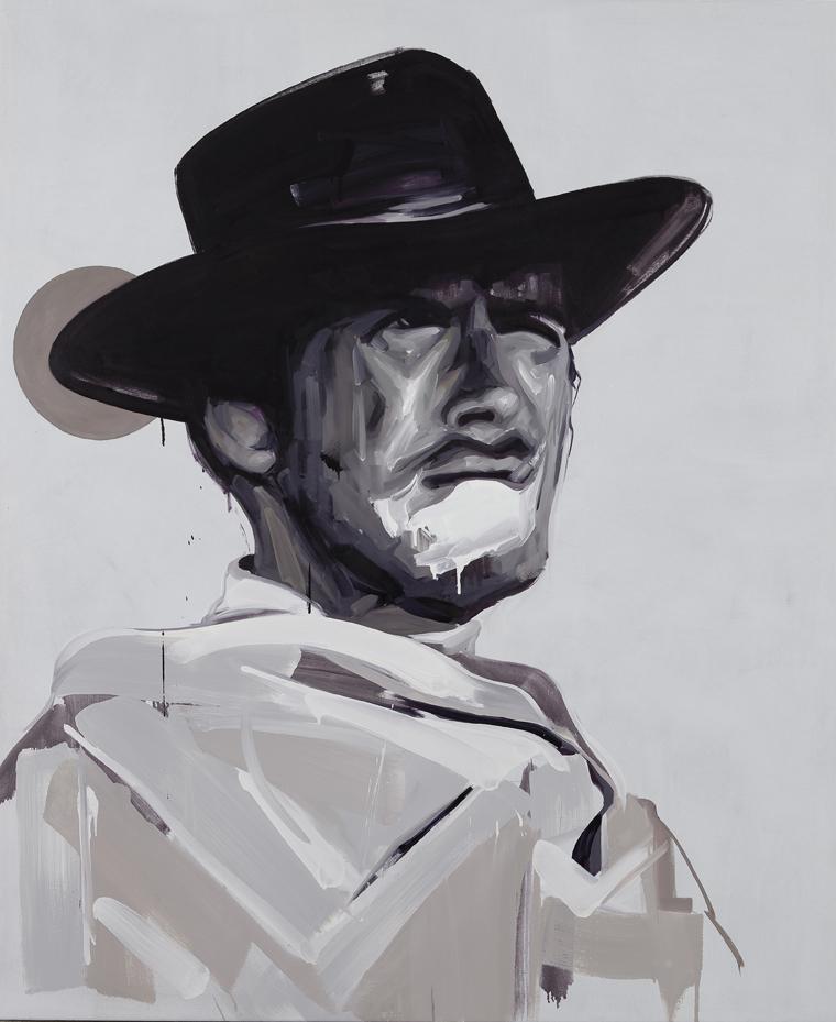 B&W Cowboy