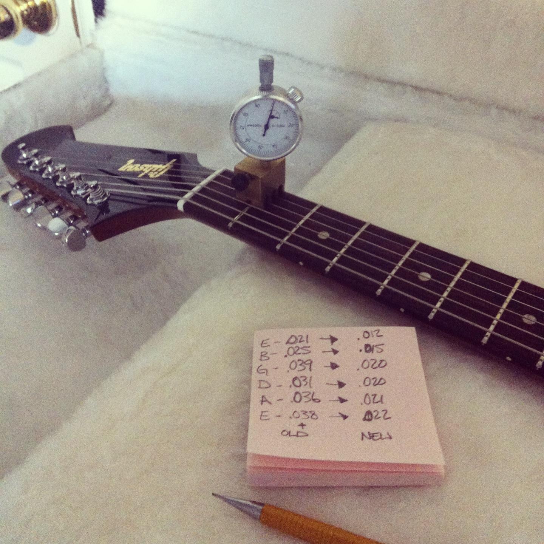 Setting up a Gibson Firebird