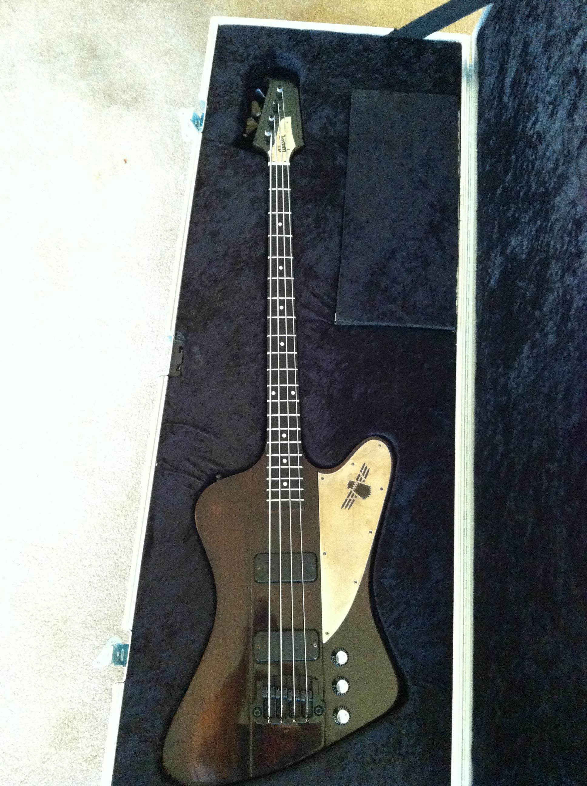 Finished Gibson Thunderbird