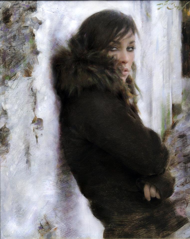 """Nonchalant"" 16x20 oil on canvas"