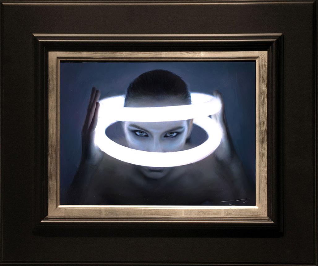 """""""Illumination"""" 12x16 oil on canvas"""