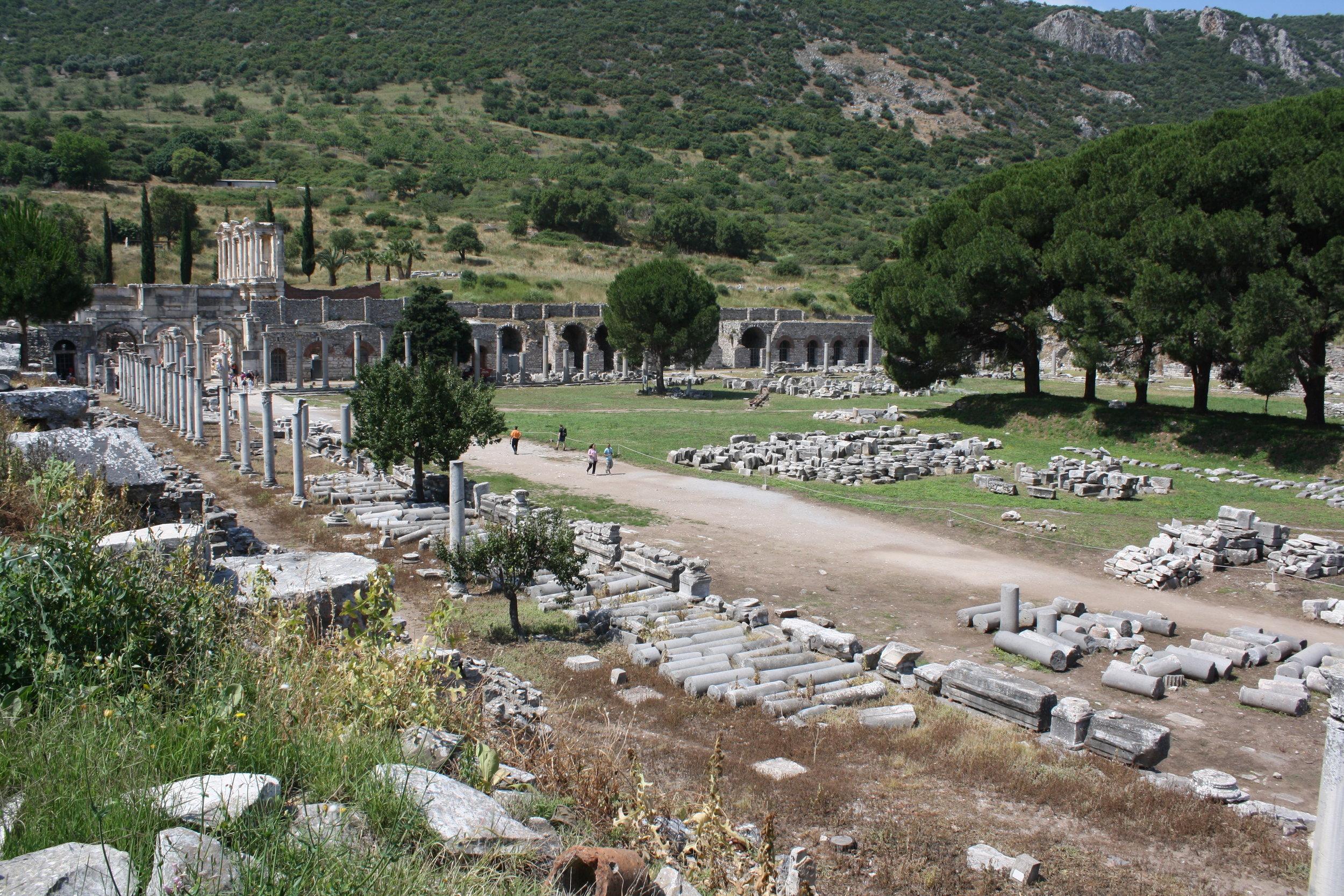 The Agora in Ephesus