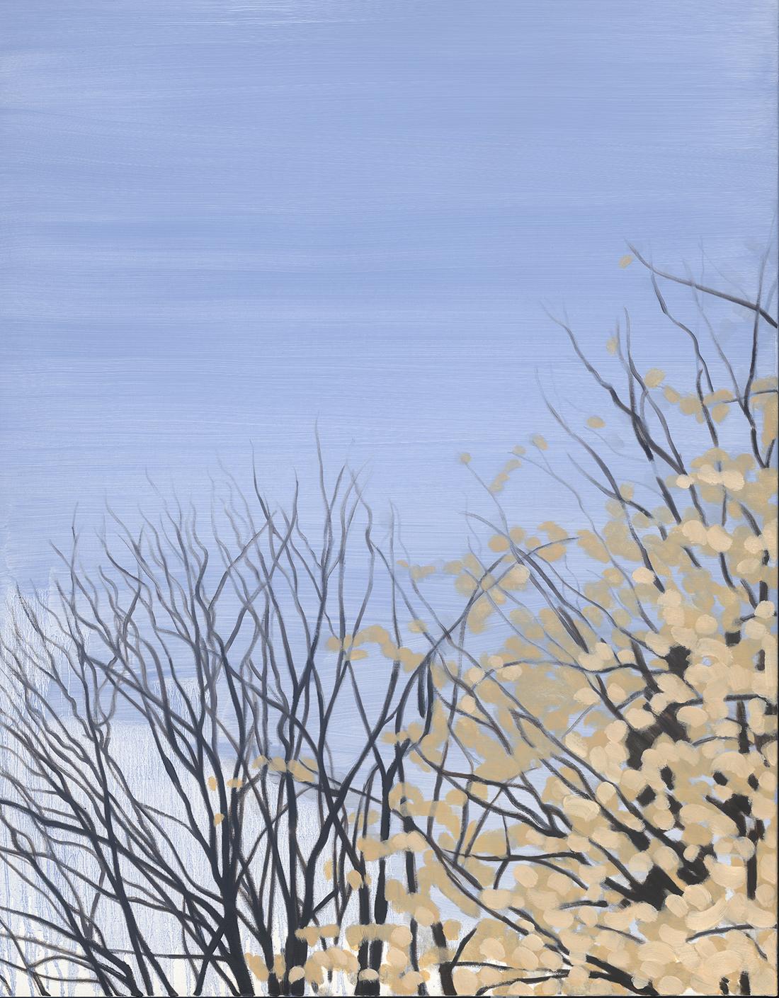 Blossom,oil on linen, 107 x 83.5 cm (sold)