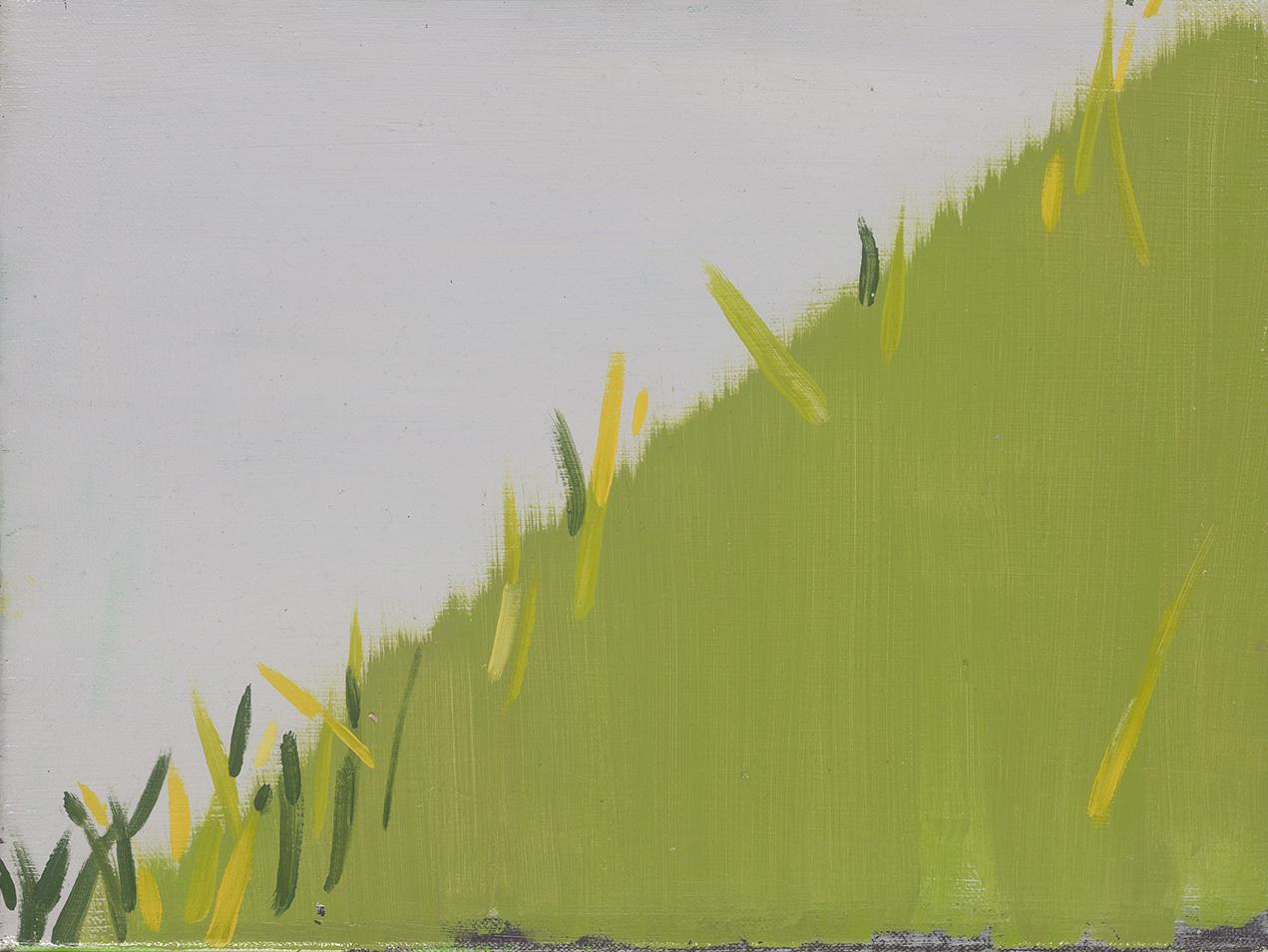 Grass,oil on linen, 30 x 40 cm