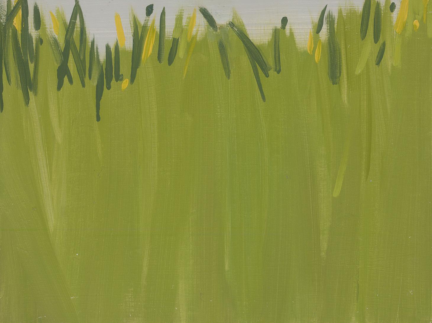 Grass 2,oil on board, 30 x 40 cm