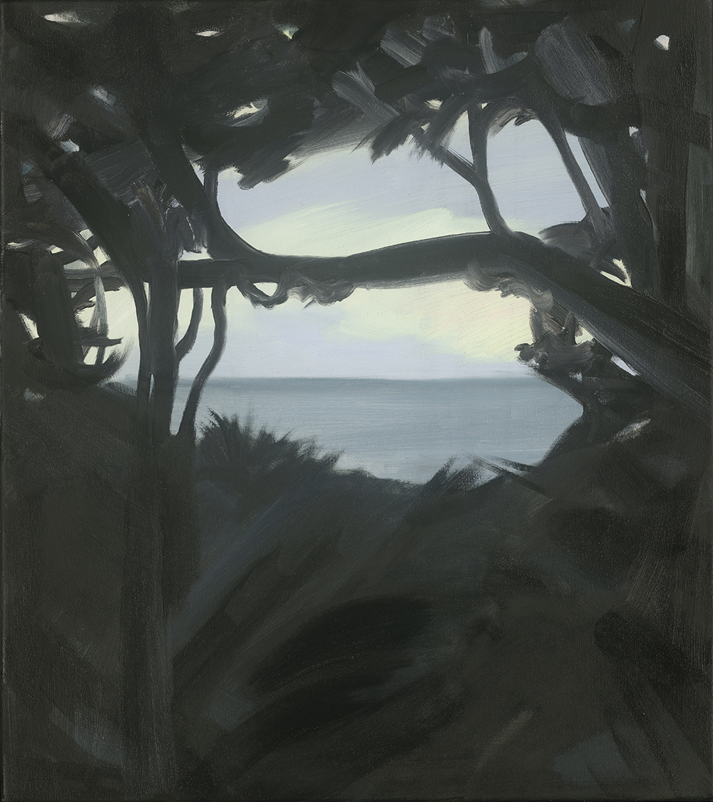 Twilight Horizon, oil on canvas, 41x46 cm
