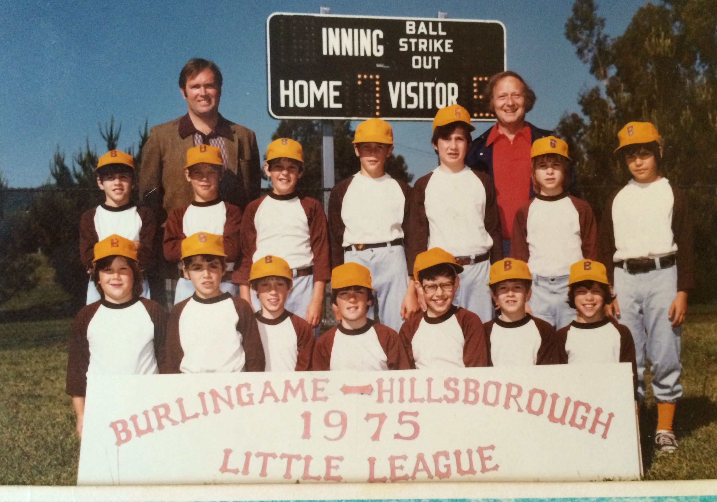1975 Brown Sox, Burlingame, CA