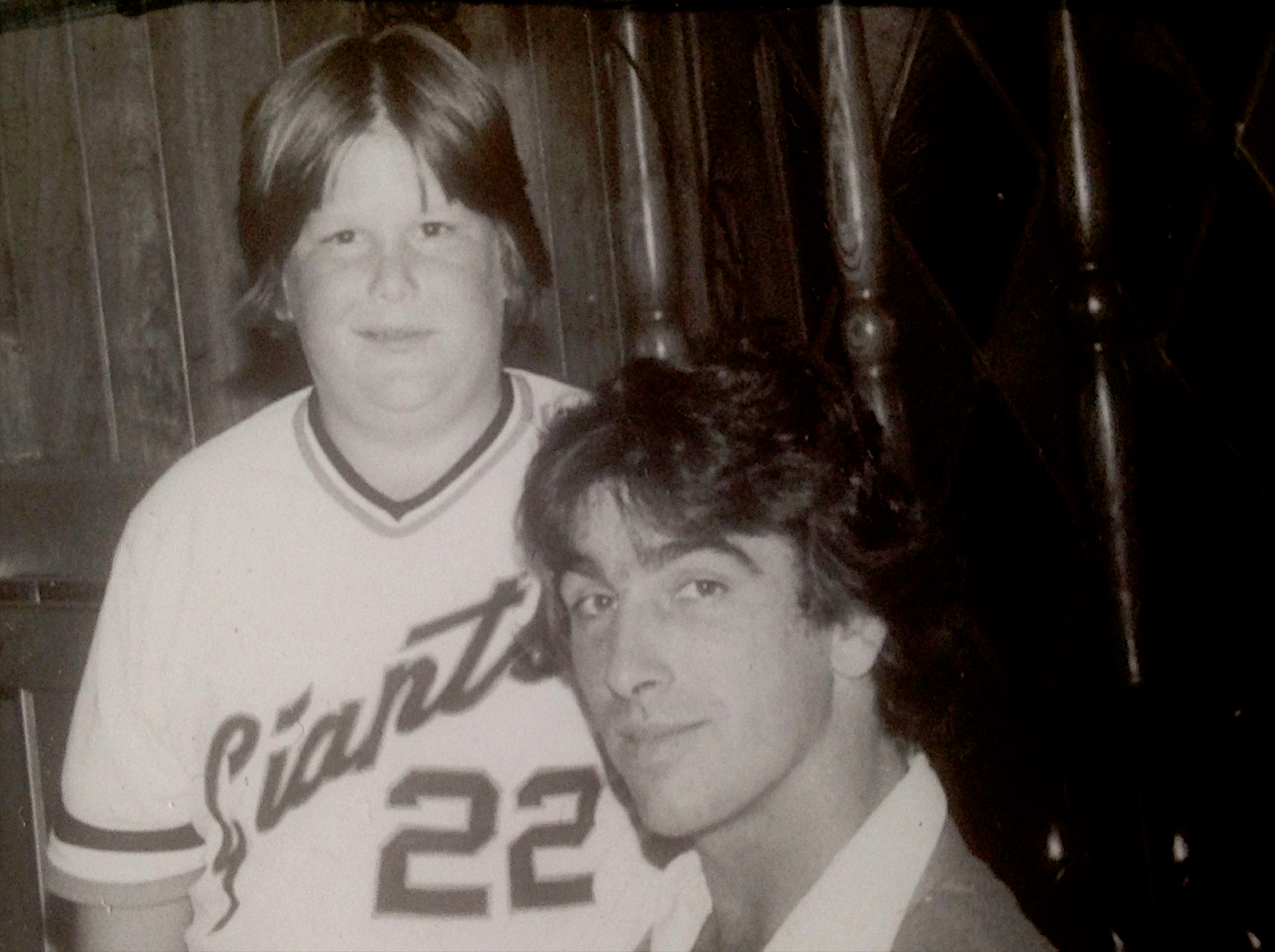 Giants Booster Dinner, Me and Jack Clark, 1978 Approx