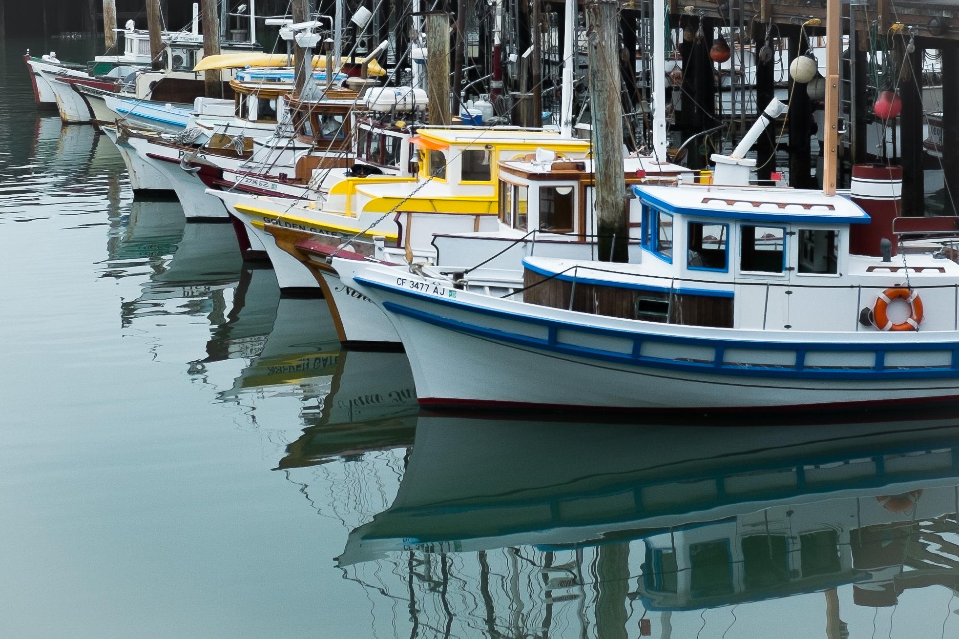 Fishermans Wharf, San Francisco, CA, Fuji X100T