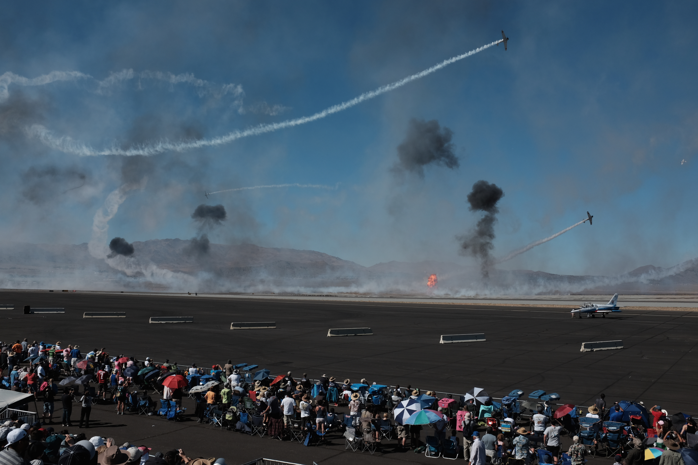 Tora! Tora! Tora!  Reno Stead Airport, National Championship Air Races 2015