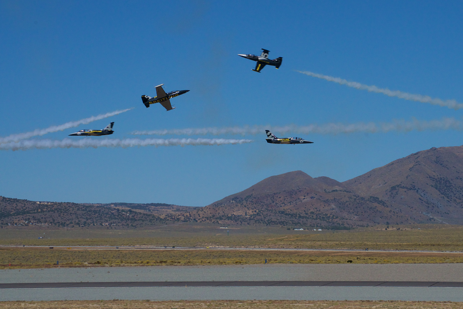 Breitling Jet Team, Reno Stead Airport, National Championship Air Races 2015