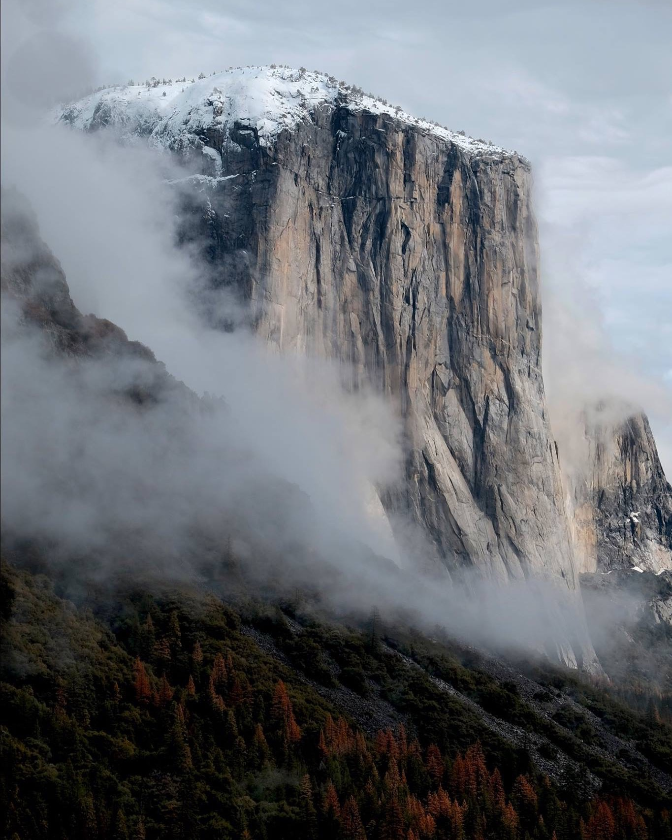El Capitan, Yosemite National Park, Winter