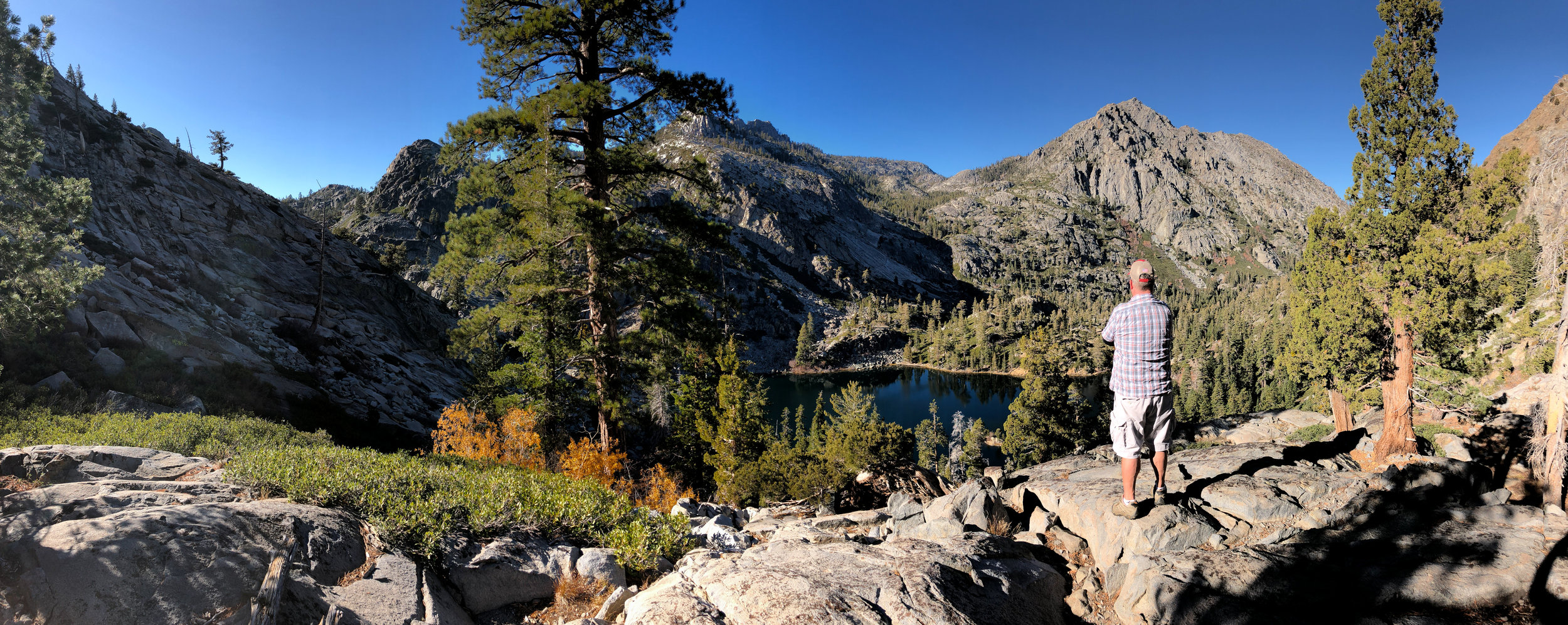 Desolation Wilderness, Eagle Lake.  iPhone Panorama.