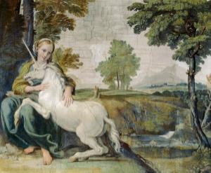 fresco, probably by Domenico Zampieri, c. 1602