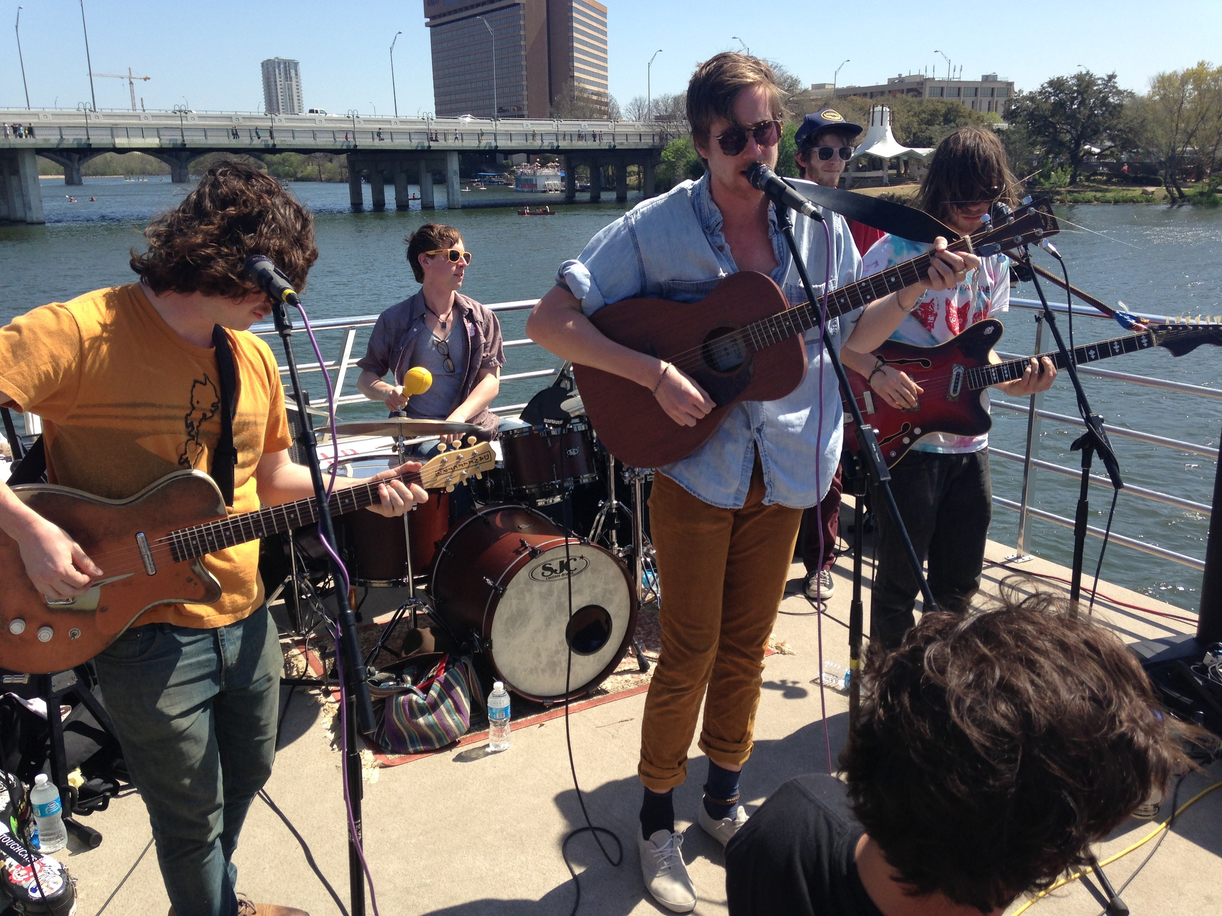 The Sun Parade on The Riverboat Show at SXSW