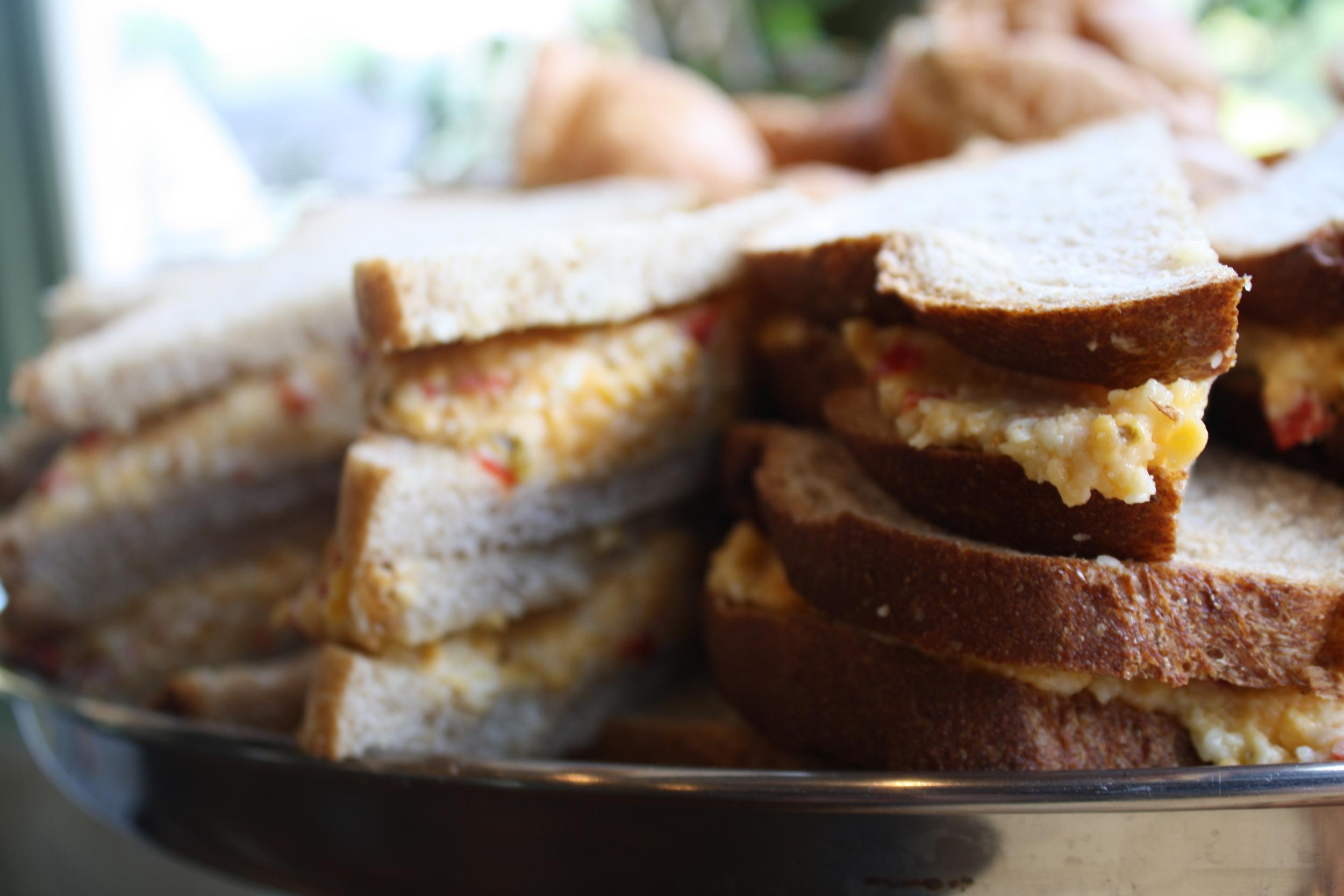 Pimento Cheese Sandwiches