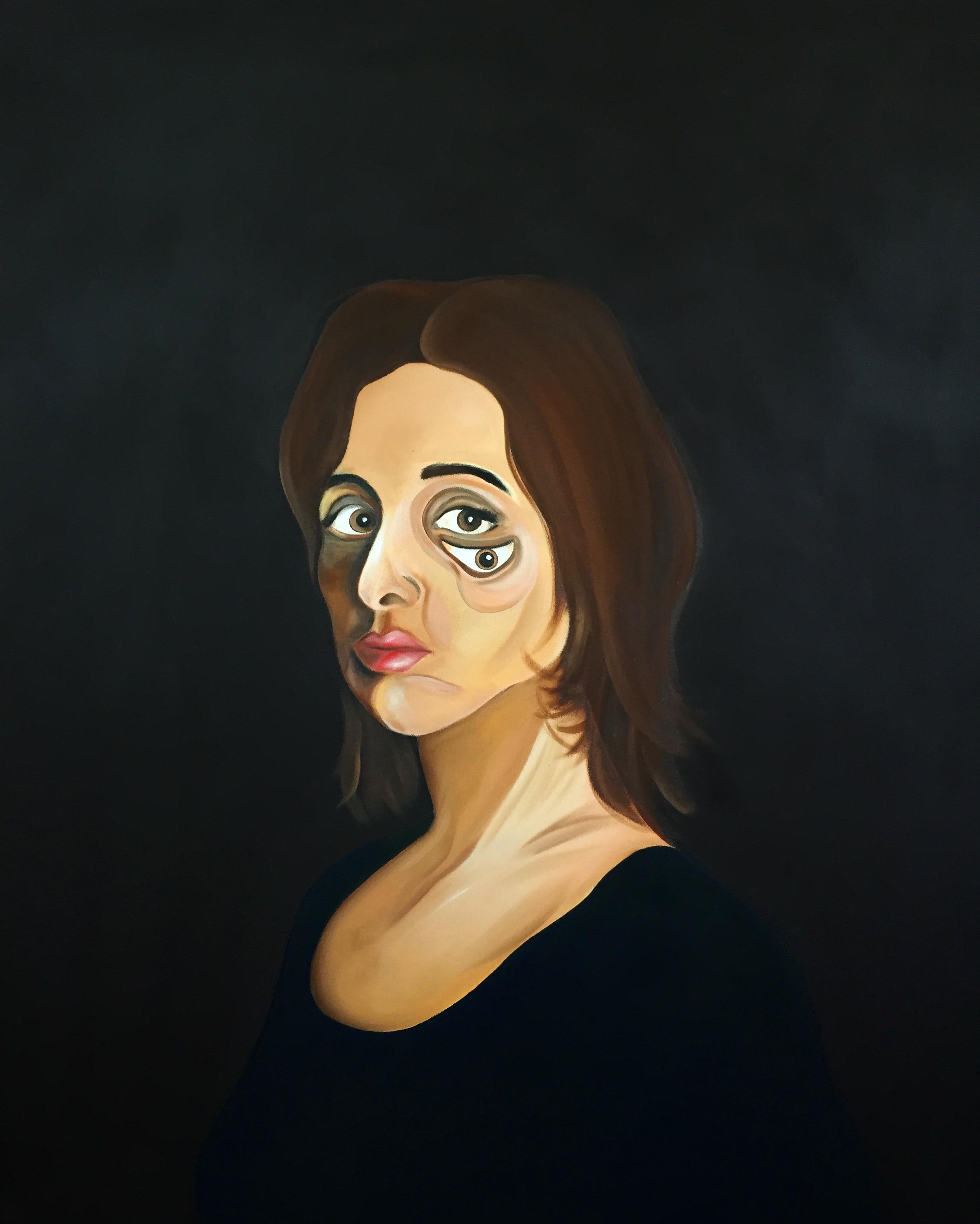 Acrylic on Canvas  48 x 36 in  122 x 91 cm