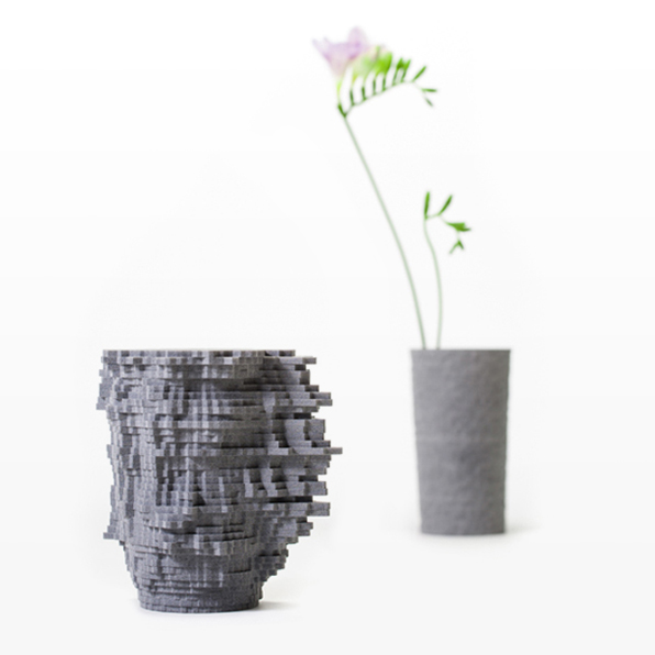 "The Sound Plotter vase on the left incorporates the phrase, ""The future is coming sweet and strong, nothing can change the shape of things to come"". The vase in the background represents 30 seconds of silence - only the background noise of the recording creates textural variation.                 0     0     1     71     408     Studio Manusha     3     1     478     14.0                            Normal     0                     false     false     false         EN-AU     JA     X-NONE                                                                                                                                                                                                                                                                                                                                                                                                                                                                                                                                                                                                                                                                                                               /* Style Definitions */ table.MsoNormalTable 	{mso-style-name:""Table Normal""; 	mso-tstyle-rowband-size:0; 	mso-tstyle-colband-size:0; 	mso-style-noshow:yes; 	mso-style-priority:99; 	mso-style-parent:""""; 	mso-padding-alt:0cm 5.4pt 0cm 5.4pt; 	mso-para-margin:0cm; 	mso-para-margin-bottom:.0001pt; 	mso-pagination:widow-orphan; 	font-size:10.0pt; 	font-family:Cambria;}"