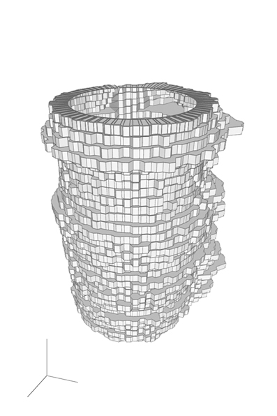 "The CAD drawing of the Sound Plotter vase which incorporates the German phrase ""Ich liebe Dich"" (I love you).                 0     0     1     71     408     Studio Manusha     3     1     478     14.0                            Normal     0                     false     false     false         EN-AU     JA     X-NONE                                                                                                                                                                                                                                                                                                                                                                                                                                                                                                                                                                                                                                                                                                               /* Style Definitions */ table.MsoNormalTable 	{mso-style-name:""Table Normal""; 	mso-tstyle-rowband-size:0; 	mso-tstyle-colband-size:0; 	mso-style-noshow:yes; 	mso-style-priority:99; 	mso-style-parent:""""; 	mso-padding-alt:0cm 5.4pt 0cm 5.4pt; 	mso-para-margin:0cm; 	mso-para-margin-bottom:.0001pt; 	mso-pagination:widow-orphan; 	font-size:10.0pt; 	font-family:Cambria;}"