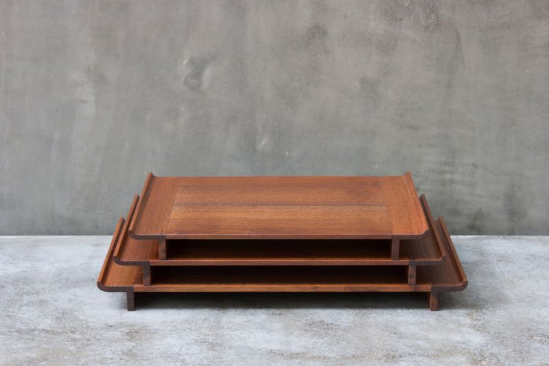 Trays by Bijoy Jain