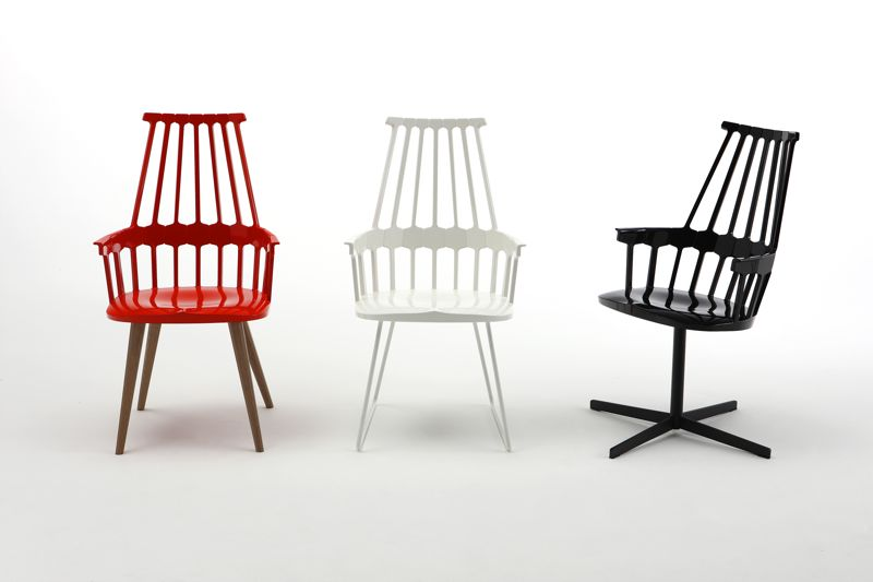 The 'Comback' chair designed for Kartell in 2012.