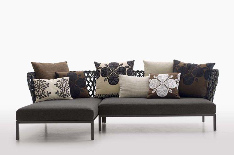The 'Ravel' outdoor sofa for B&B Italia.