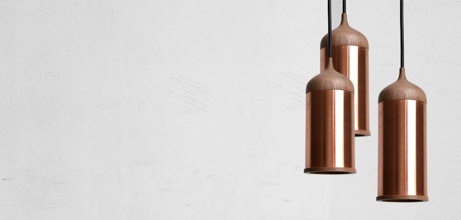 Steven Banken's 'Copper Lamp No 1' in a tasty little grouping.