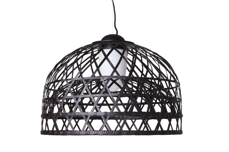 'Emperor' pendant for Moooi 2010. Part of a range of bamboo rattan lights.