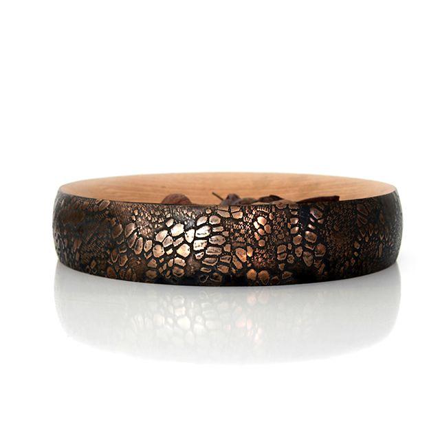 Ben Wahrlich's 'Kodiak' bowl in a bronze 'Cayman' finish.