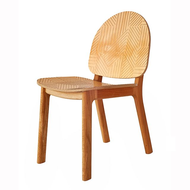 David Caon's 'Ghillie' chair with 'Vector' finish.