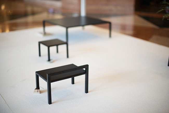Melvin Ong's 'Common Vessels' installation 2012.