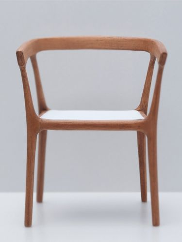 The 'Empty' chair was designed during a workshop in Singapore    with Japanese designer, Naoto Fukasawa.