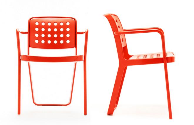 The 'De La Warr Pavilion' chair in all it's glory.