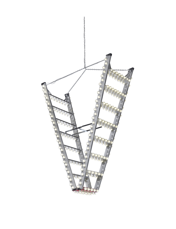 The 'Downstairs' light was originally designed for a local restaurant but is now part of the DHPH collection.