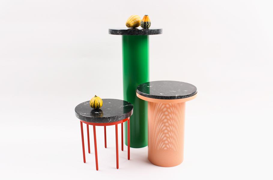 Vera & Kyte's 'Pedestal' side table.