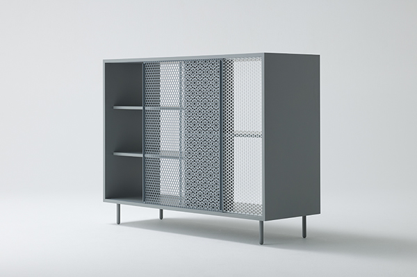 Junpei Tamaki's 'Snowscape' cabinet.