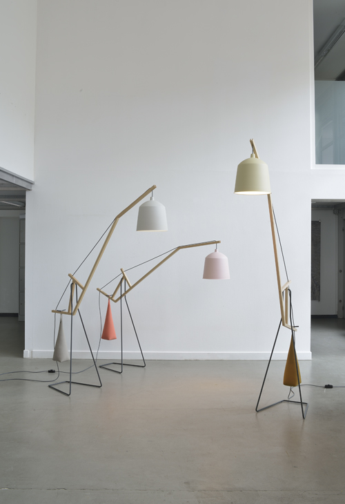 'A floor light' by Aust & Amelung. Photograph by Minu Lee.