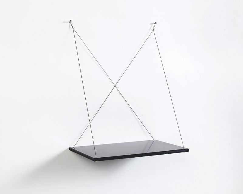 The 'Duo' platform shelf by Bahbek Hashemi-Nezhad.