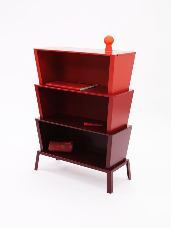 96º - a modular shelving unit by German designer, Karoline Fesser.Photography by Sven Lützenkirchen.