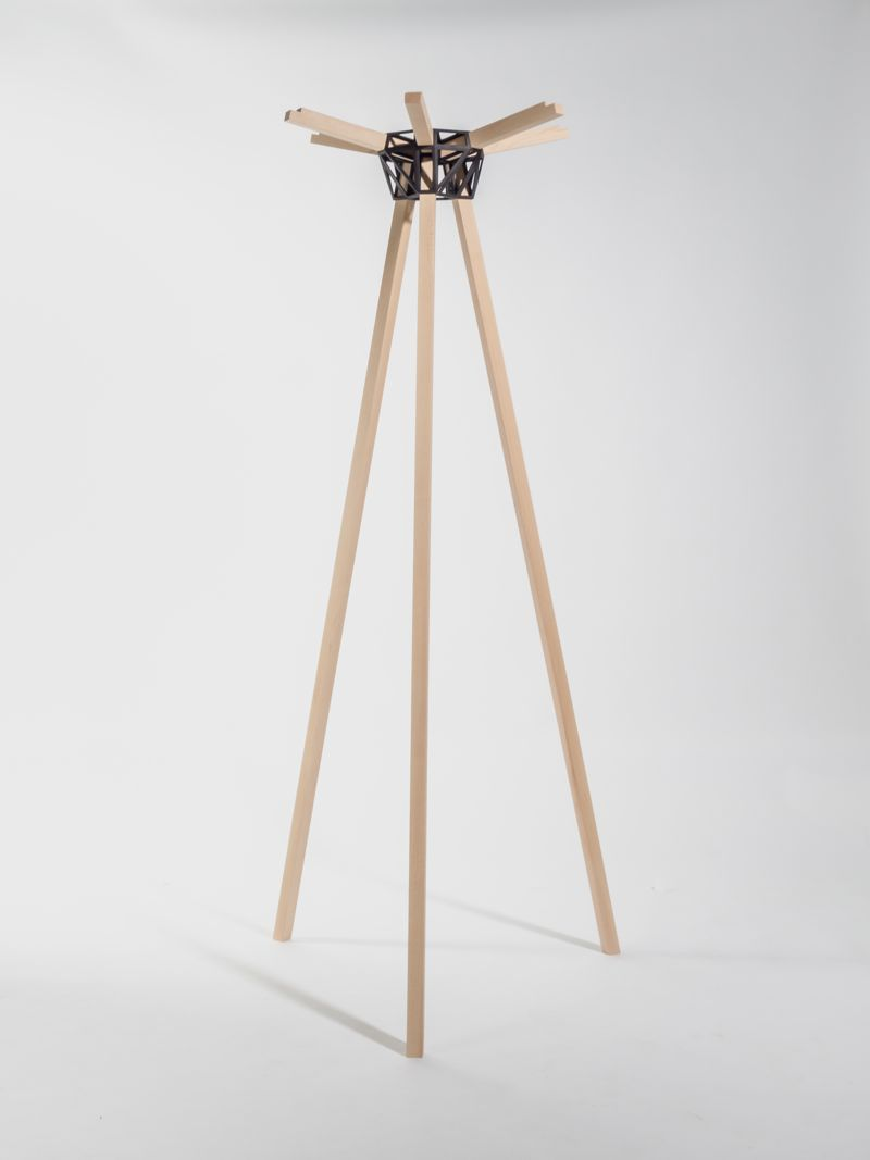 The 'Keystones' coat stand in it's current form.