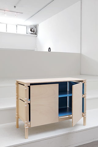 Minale Maeda 'Inside Out Furniture' in the form of a small sideboard.