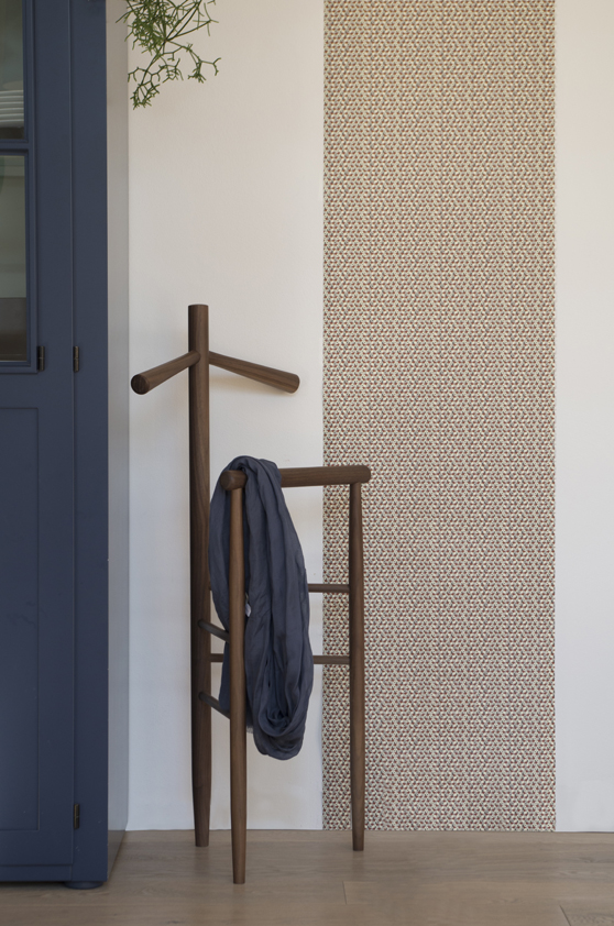 The 'Mori', clothes valet / stand is available in either walnut or beech. Designed by Iacchetti with Alessandro Stabile, it is made by Somaschini Felice e Nipoti, a specialty woodturning company. The beautiful valets sell for just 298 euro.
