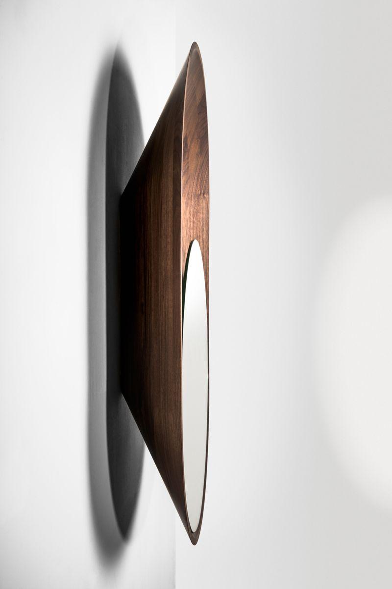 A side on view of 'Mono' shows its deep bowl-like shape.